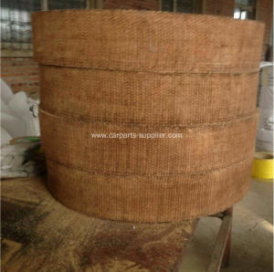Brown Woven Resin Brake Lining Roll pictures & photos