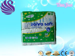 Newest Design Super Absorbent Baby Diaper pictures & photos