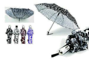 Crocodile Skin Compact Manual Aluminum Umbrella (YS-3FM21083947R) pictures & photos