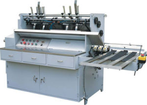 Automatic Page Gluing Pasting Machine (ZXPG400) pictures & photos
