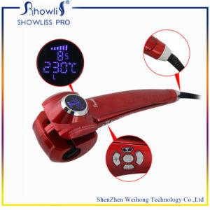 2015 Hot Selling Tourmaline Material and LED Temperature Display Automatic Magic Tec Hair Curler with CE and RoHS Certification pictures & photos