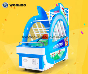 Coin Operated Machine Amusement Park Kids Angeletball Basketball Cager Machine