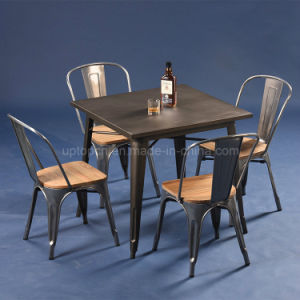 Wholesale Industrial Metal Cafe Restaurant Furniture (SP-CT675) pictures & photos
