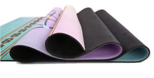 Natural Rubber Yoga Mat Full Color Printed pictures & photos