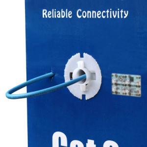 UTP CAT6 LAN Cable 305m Gigabit Fluke-Passed Poe Compatible Blue pictures & photos