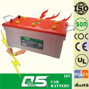 JIS-N200 12V200AH, Super Dry Charged Car Battery Dry charged traction batteries pictures & photos