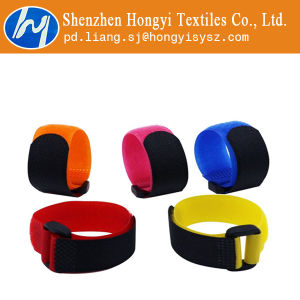 Colorful Hook and Loop Cable Tie Straps pictures & photos