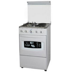 20′′ Free Standing Stove with Oven (2 gas & 2 Electric) pictures & photos