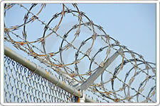 Galvanized Chain Link Concertina Wire Fence pictures & photos