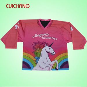 Ice Hockey Referee Jersey, Team Swenden Hockey Jersey, Jersey, Pink Hockey Jersey pictures & photos