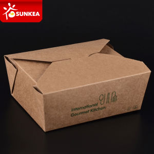Paper Food Packaging Box Take Away Hot Food pictures & photos