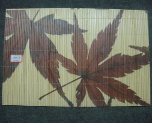 (BC-M1025) Handmade Natural Bamboo Rectangle Heat Insulation Placemat pictures & photos