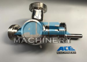 Stainless Steel Sanitary Three Way Clamp Plug Valve (ACE-XSF-G1) pictures & photos