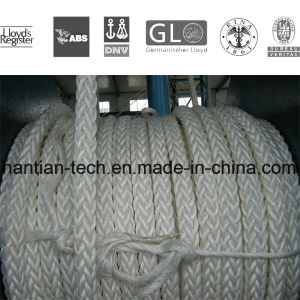 Marine Braided 12 Strands Polyester Boat Rope on Sale (C-12) pictures & photos