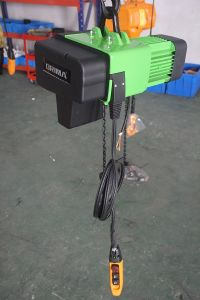 3m/M6 250kg European Electric Chain Hoist with Suspension pictures & photos