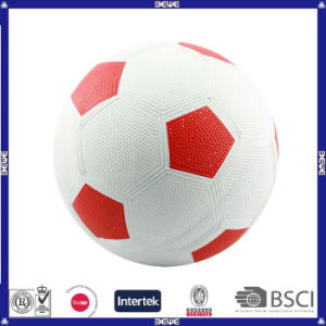 China Supplier Rubber Material Soccer Ball pictures & photos