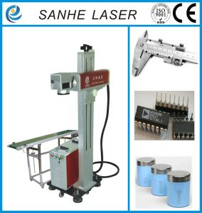 Portable Fiber Laser Marking Machine 20W for Knife/ Shell/USB with Ce SGS pictures & photos