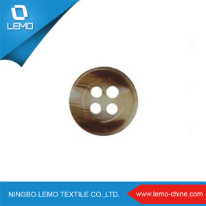 4holes Custom Laser Polyester Shirt Buttons pictures & photos