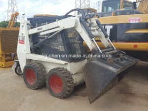 Good Condition Bobcat Skid Steer Loader S130 with Drill pictures & photos