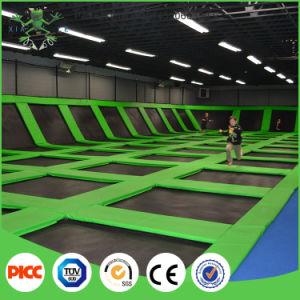 Factory Price Trampoline Park Indoor Commercial Trampoline pictures & photos