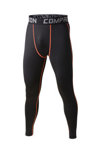 Compression Trousers Fitness Jogging Tights Sports Training Gym Wear (AKJSCK-2015017) pictures & photos