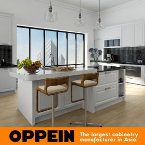 Oppein Traditional Luxury White Maple Solid Wood Kitchen Cabinets (OP16-S03) pictures & photos