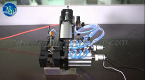 Bzw Half-Automatic Pneumatic Wire Stripping Machine pictures & photos