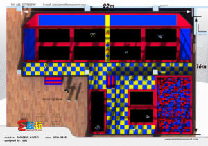 High Quality Trampoline Park with Ce Certificate pictures & photos