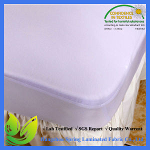 Twin Size Waterproof Hotel Mattress Protector pictures & photos