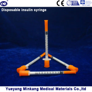Disposable Insulin Syringe 1cc (ENK-YDS-024) pictures & photos
