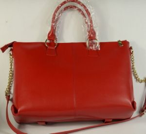 Guangzhou Supplier Fashionable Design Real Leather Women Handbag (222)