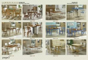 Modern Dining Table and Chair Set for Home pictures & photos