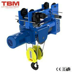 Standard-Headroom Travelling Hoist (4/1 Rope Reeving) , Lifting Machines, Hoist Lifting, Tbm Hoist pictures & photos