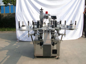Square Bottle Double-Size Automatic Labeling Machine pictures & photos