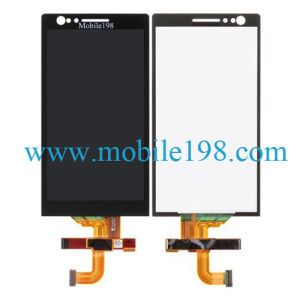 Mobile Phone LCD Screen and Touch Digitizer for Sony Xperia P Lt22I Spare Parts pictures & photos