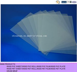 Clear Matt Rigid PVC Sheet for Printing pictures & photos