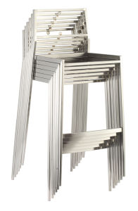Stackable Stainless Steel High Chair pictures & photos