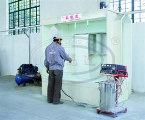 Eectrostatic Powder Coating Line with Recycle System pictures & photos