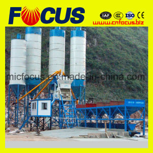 Hzs90 90m3/H Concrete Batching Mixing Plant Station for Sale pictures & photos