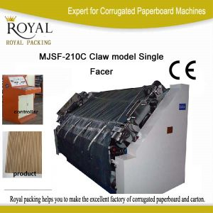 Single Facer Machine (Claw) pictures & photos