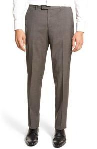Latest Custom Design Flap Front Wrinkle-Free Men′s Formal Bulk Pants pictures & photos