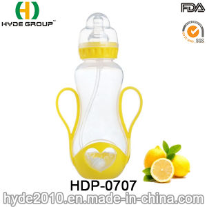 Newly 250ml PP BPA Free Plastic Feeding Bottle, Customized Plastic Baby Feeding Bottle (HDP-0707) pictures & photos