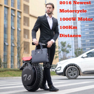 1000W One Wheel Electric Motorcycle (ES006) pictures & photos