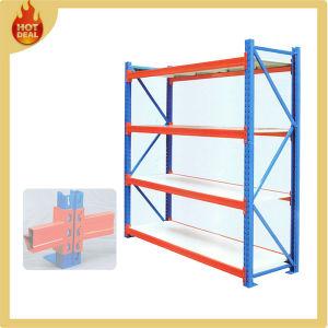 Heavy Duty Adjustable Galvanize Metal Warehouse Storage Shelf pictures & photos