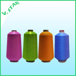 Hank Dyed Color Nylon DTY Yarn pictures & photos