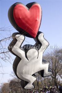 Giant Proposal Helium Balloon Flying Balloon with Red Heart K7157 pictures & photos