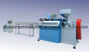 Plastic Rattan Fiber Extruder Machine for Furniture
