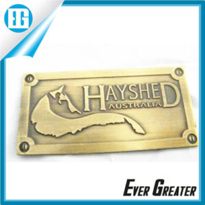 Custom Metal Logo Design, Handbag Metal Logo Plate, Custom Metal Logo for Handbags pictures & photos