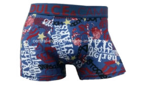 New Style Allover Print Men′s Boxer Short Underwear pictures & photos