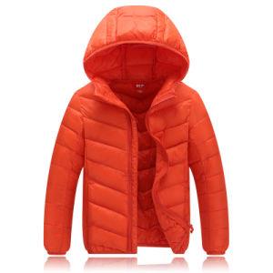 2016 Hot Sales Children Winter Ultra-Light Foldable Down Jacket 601